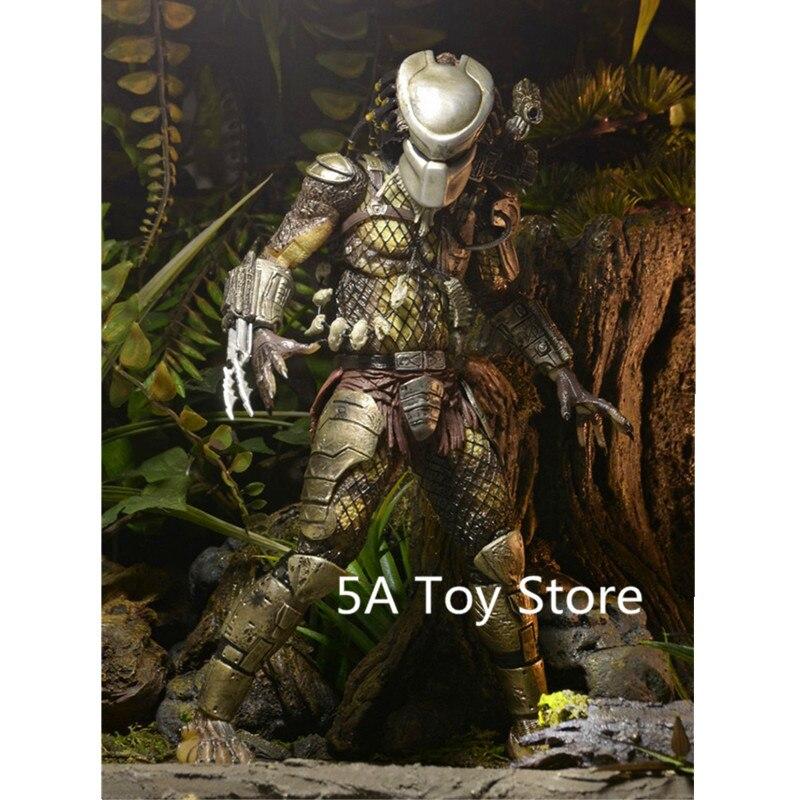 NECA prédateurs Jungle chasseur P1 PVC figurine à collectionner modèle jouet 18 CM rétial boîte