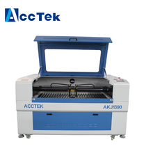 Shandong AccTek cnc double laser head CO2 engraving and cutting machine price