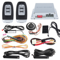 PKE Car Alarm Kit Psssive Keyless Entry System With Remote Engine Start Push Button Start Touch