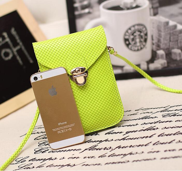 Bolso del teléfono móvil de SUOAI Messenger linda mujer mini bolso - Bolsos - foto 5