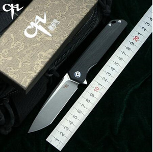 Image 3 - Cuchillo D2 CH 3007/3507, cuchillo plegable abatible con rodamiento de bolas, mango G10, para Camping/caza/al aire libre/bolsillo/cuchillo de supervivencia EDC