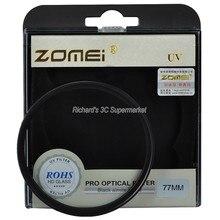 Zomei 49mm 52mm 55mm 58mm 62mm 67mm 72mm 77mm 82mm filtre UV protecteur de filtre dobjectif ultraviolet pour Canon Nikon Sony appareil photo reflex numérique