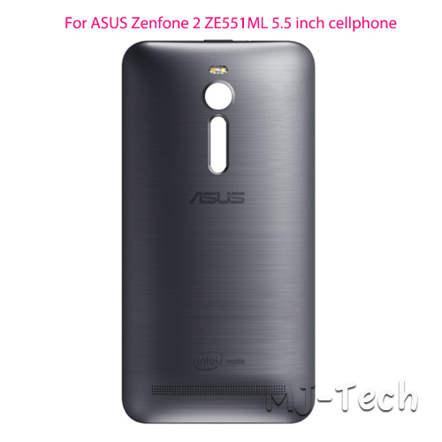 the best attitude a6896 d0b2b US $7.19 10% OFF 100% Original ASUS Zenfone 2 ZE551ML Back Cover Case Rear  Battery Cover with NFC-in Phone Bumpers from Cellphones & ...