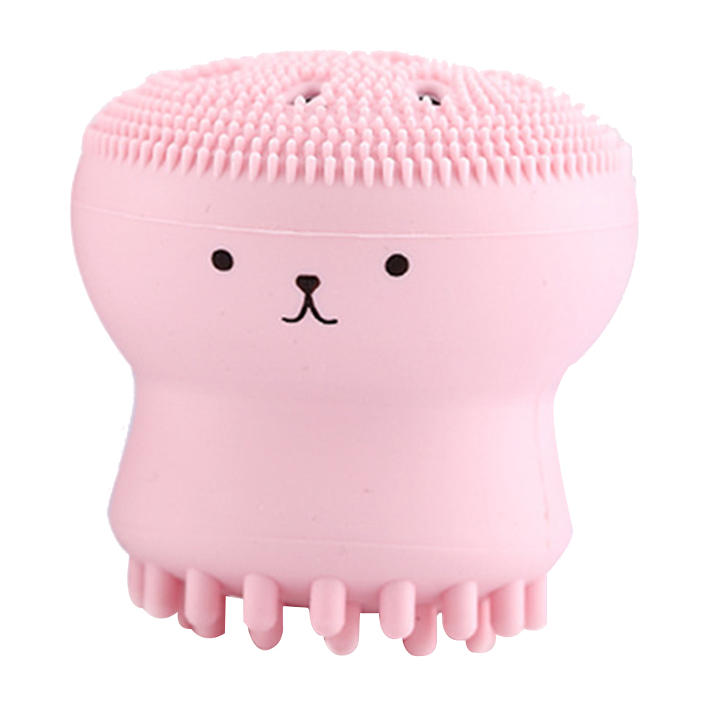 Cute Design Face Washing Brush Silicone Makeup Brush Smooth Face Skin Care Cosmetic Tools
