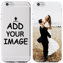 Custom Personalized Make Your Photo images Pattern New 2019 Soft Clear Phone Case Cover For iPhone 7 6 6S 8Plus 5S X XS XR XSMax