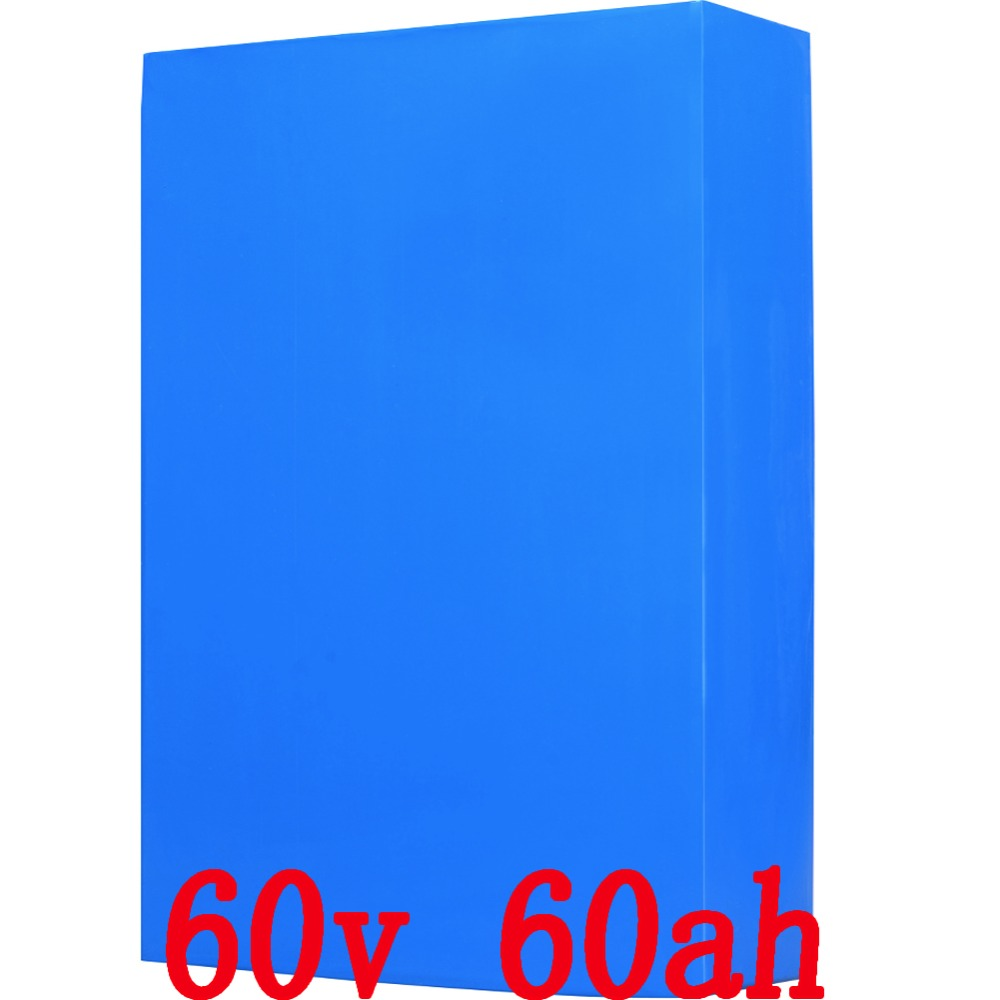 60V 60Ah 3000W electric bike battery  lithium Battery with 50A BMS and 67.2v 5A Charger  Free shipping free customs taxes and shipping 60 volt 3000w rechargeable 60v 25ah lithium ion battery pack with bms and charger