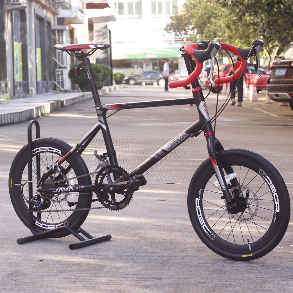 JAVA CL Bike 20 Minivelo 18 font b Speed b font Disc Brake Drop Bar 4600