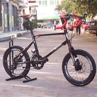 JAVA CL Bike 20 Minivelo 18 Speed Disc Brake Drop Bar 4600 Uniex High Quality Urban