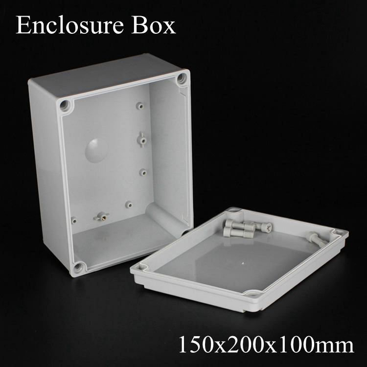 150*200*100MM IP67 ABS electronic enclosure box  Distribution control network cabinet switch junction outlet case 150x200x100MM 175 175 100mm ip67 abs electronic enclosure box distribution control network cabinet switch junction outlet case 175x175x100mm