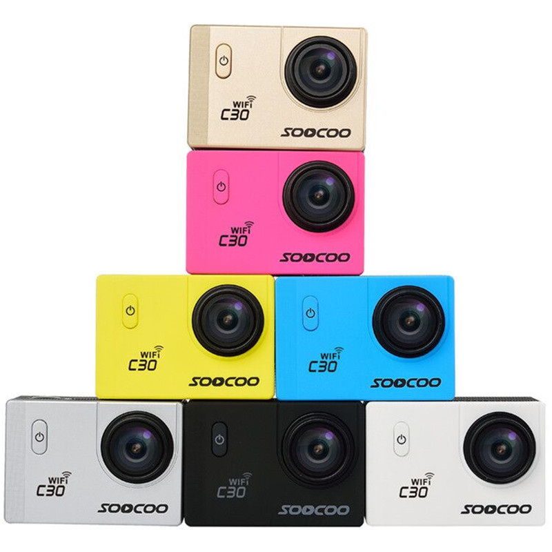 New Arrival SOOCOO C30 WiFi Sports Action Camera Full HD 1080P 170 Angle 2 0 Inch