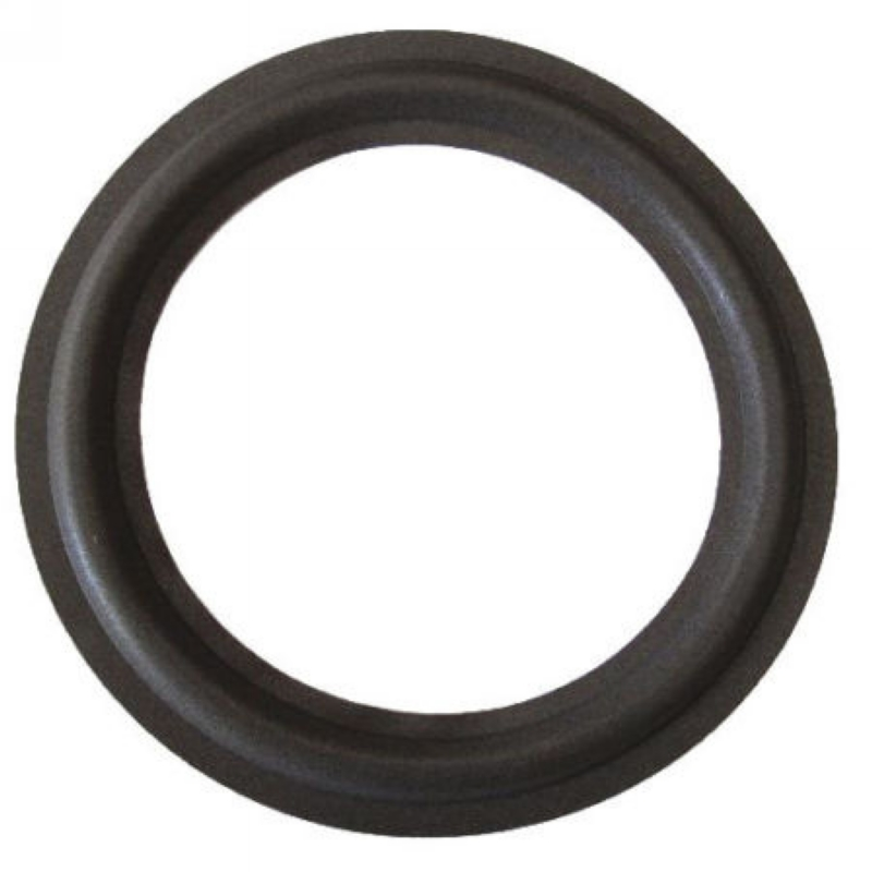10 Inch Speaker Foam Edge Surround Black Audio Foam Surrounds 250mm Suitable For Speaker