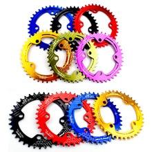 цена на 104 BCD Bicycle Chainring 32/34/36/38T/40T/42T Circular Chainwheel MTB Bike Crankset Plate Bike Crank Chain wheel Bike Parts