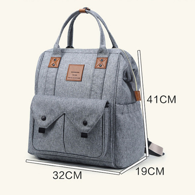Diaper Bags Backpack Baby Maternity Infant Stroller Care Feminine Women Mom Mummy Large Capacity Trolley Male