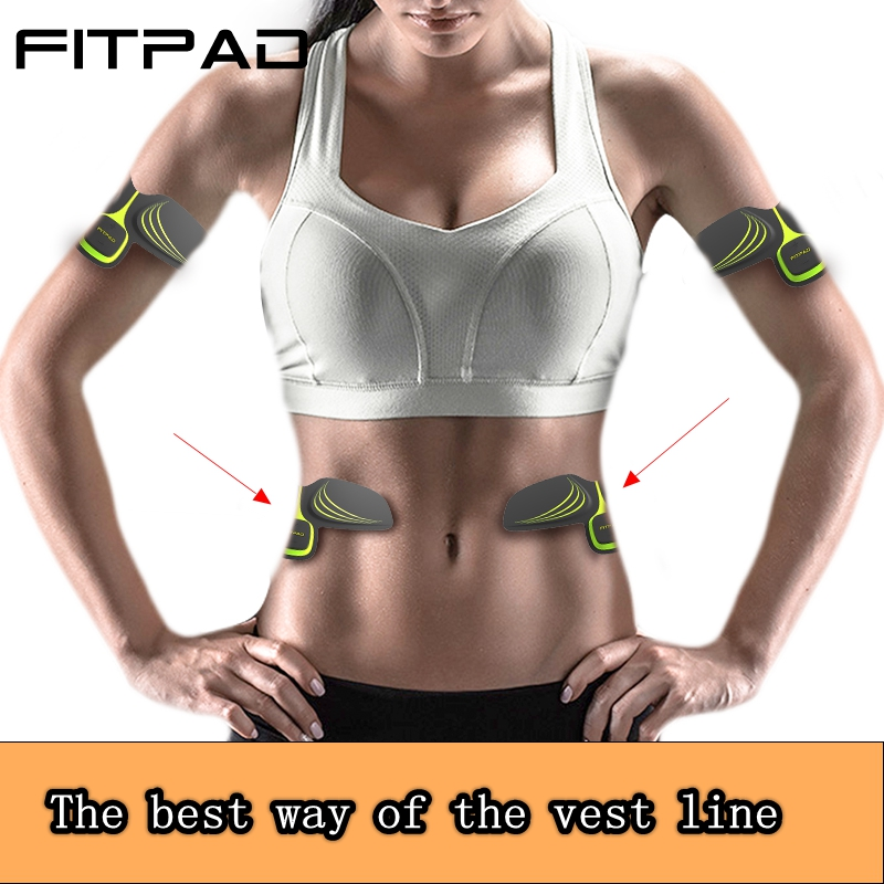 FITPAD Muscles Training Device Electro Household Abdominal Muscles Intensive Training Electric Weight Loss Slimming Massager