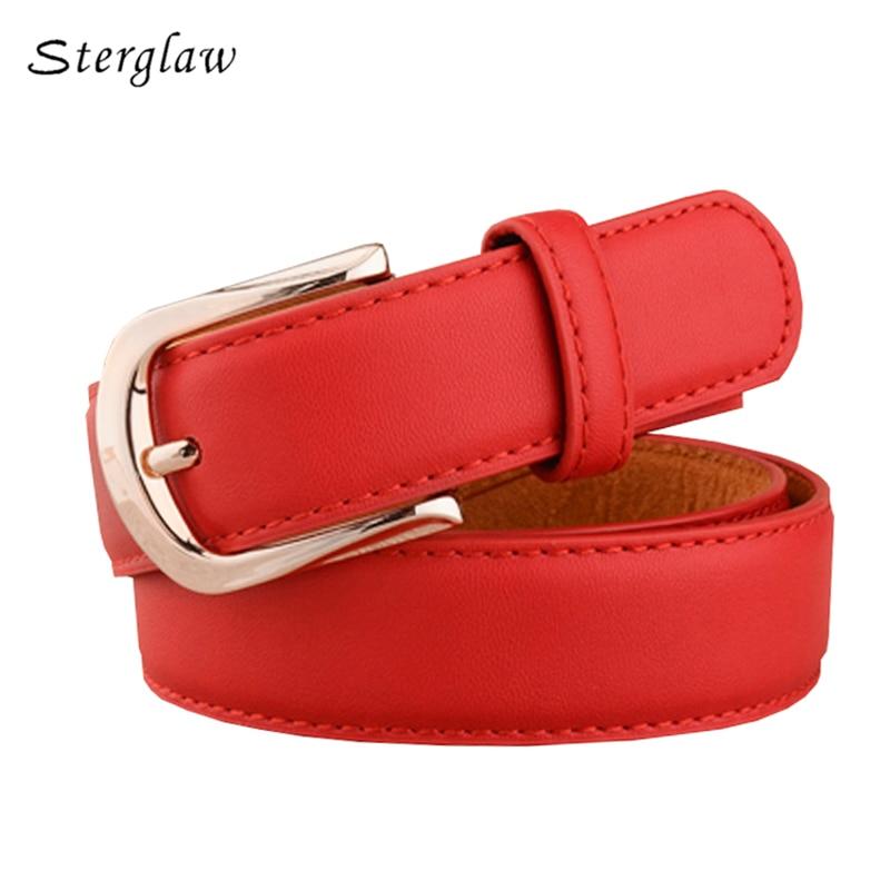 2018 Newest design vintage female   belts   high grade cow genuine leather   Belts   for women jeans straps ceintures femme C111