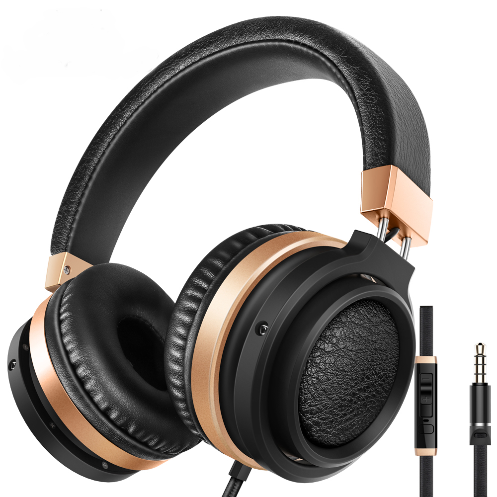 Sound Intone C9 Big Headphones with HD Mic. Stereo Bass Auriculares HIFI Sound Earphones Gaming Headsets for Xiaomi Cellphones earfun brand big headphones with mic