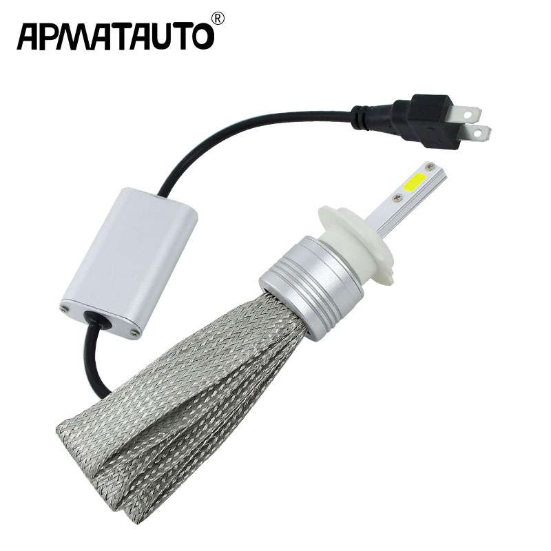 цена на 2x Plug&Play H1 H3 H4 H7 H8 H11 H9 9004 9005 HB3 H10 9006 HB4 9007 9008 LED Headlight 48W LED Headlights Bulb HeadLamp Fog Light