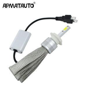 Image 1 - 2x Plug & Play H1 H3 H4 H7 H8 H11 H9 9004 9005 HB3 H10 9006 HB4 9007 9008 LED פנס 48W LED פנסי הנורה פנס ערפל אור