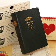 Big Dreams Luxury Faux Leather Cover Diary Blank Papers Planner Journal Business Classic Notebook Agenda Notepad Memo Gift