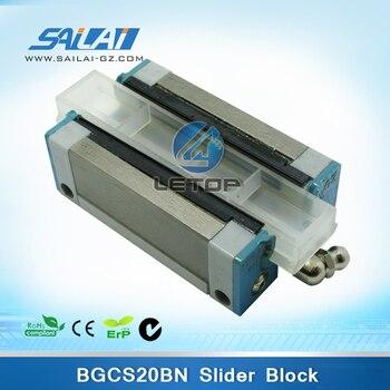 Cheap price! HIWIN BGCS20BN printer slider block for solvent inkjet