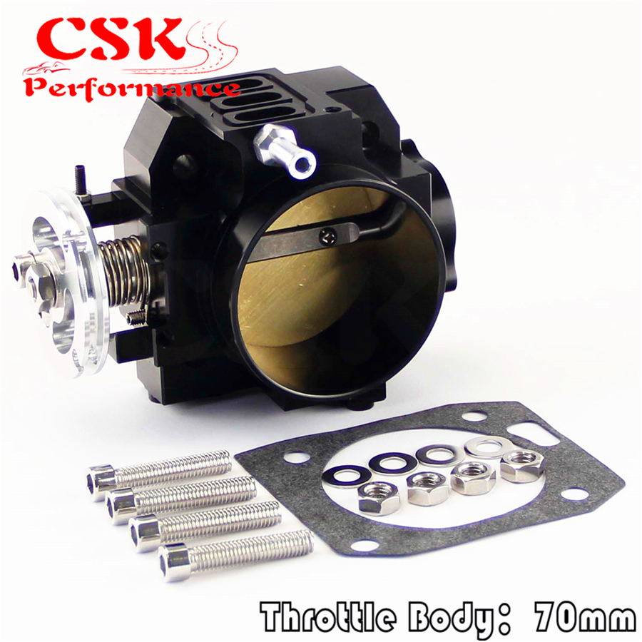 70mm Throttle Body// TPS For honda K20 //Civic// EP3// Type R//Integra DC5 Black