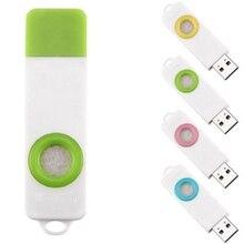 Мини USB очиститель воздуха для ароматерапии с эфирным маслом периферийное устройство компьютера продукты свежего воздуха в помещении автомобильные аксессуары новый