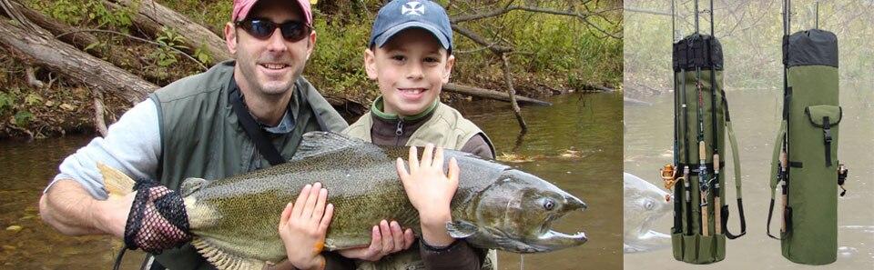 Pesca Saco De Vara de Pesca Caixa