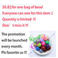 $0.81 !!!  Sales Promotion For 20MM 100Pcs/Lot Mix Color Acrylic Bead For Handmade Jewelry