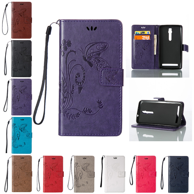 Case for Asus Zenfone 2 ZE550ML ZE551ML ZE ZE550 ZE551 550 551 550ML 551ML ML 5.5 Flip Phone Leather Cover for ASUS Z00AD Z008D