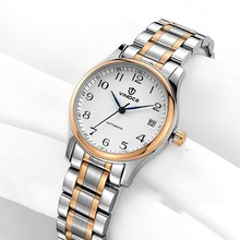 Ladies Watches Vinoce Top Luxury  Women Mechanical Watches Female Sapphire Wrist Watch Waterproof Stainless Steel Watch