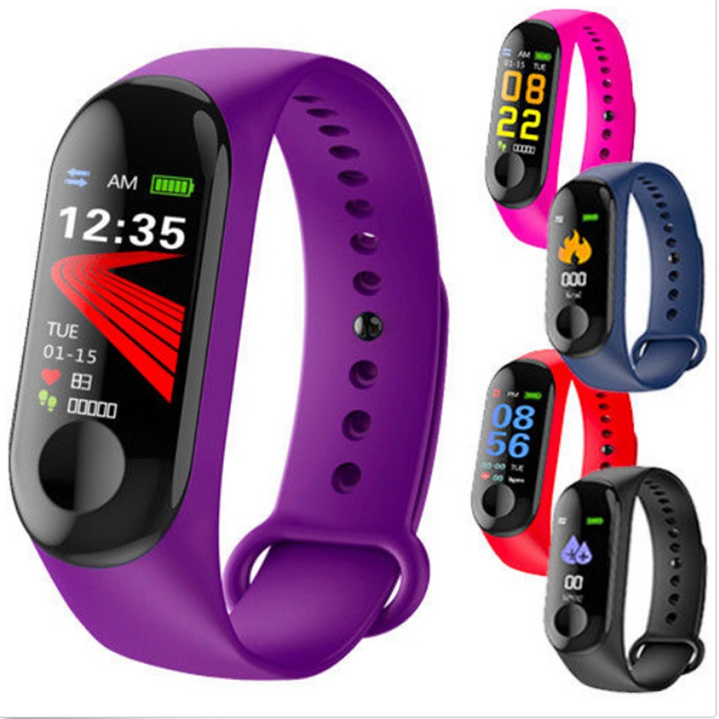 Original Smart Wristband Fitness Bracelet Big Touch Smart Watch Heart Rate Blood Pressure Monitor Brecelet Track For Android IOS