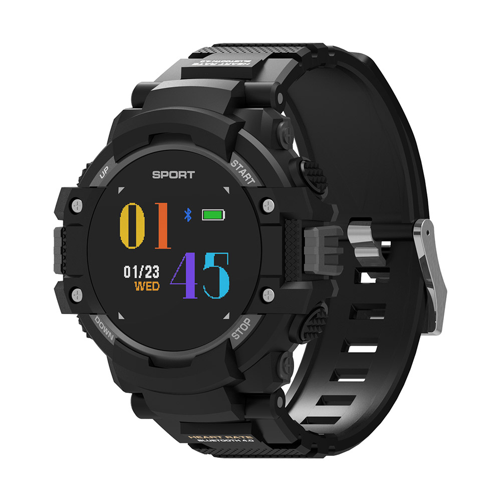 N17 GPS Color OLED Smart Watch Smartwatch Outdoor Tracker Multi Sports Bluetooth IP67 Waterproof Heart Rate