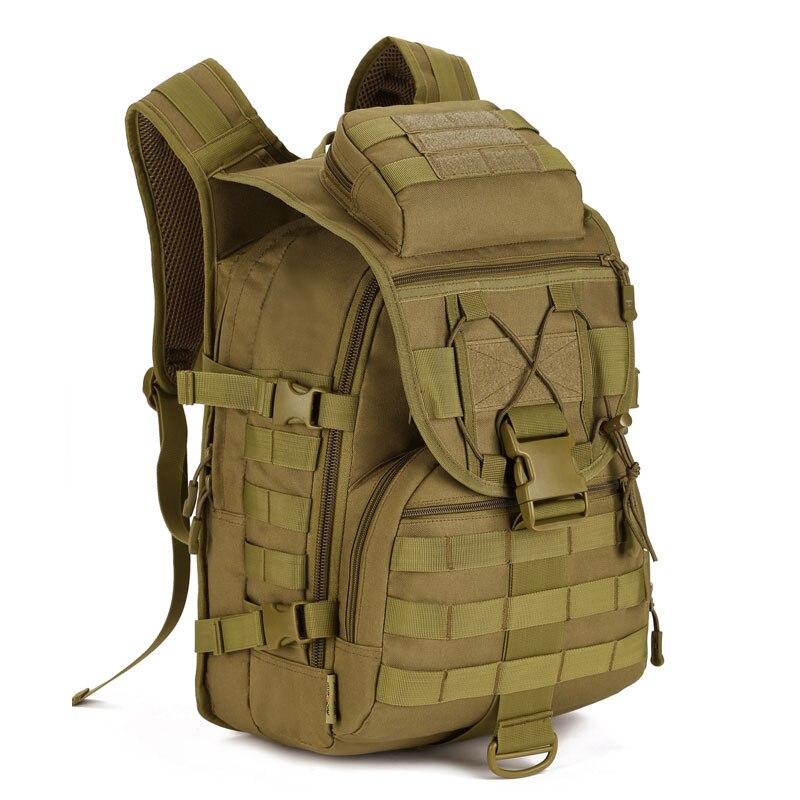 Protecteur Plus sac d'alpinisme voyage étanche en gros sac à dos tactique étudiant sac d'école assaut soldat hommes ordinateur portable