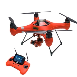 Swellpro Splash Drone 3 Waterproof with 4K Camera and Monitor Auto Quadcopter RTF swellpro водонепроницаемые fpv беспилотный авто версия
