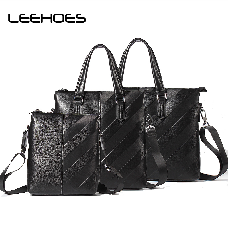 High Quality Genuine Leather Shoulder Bags Fashion Men Messenger Bag Small Ipad Male Tote Vintage Crossbody Bags Men's Handbags zznick genuine leather shoulder bags fashion men messenger bag small ipad male tote vintage new crossbody bags men s handbag