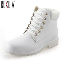 ROXDIA autumn winter women ankle boots new fashion woman snow boots for girls ladies work shoes plus size 36-41 RXW762(China)