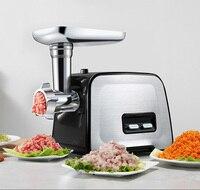 Avançando do agregado familiar moedor de carne picador de carne de salsicha máquina de enchimento de multi-funcional aço inoxidável 220V