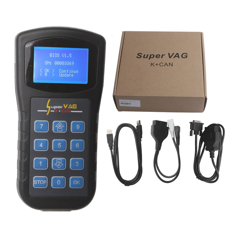 ФОТО 2016 Top Selling Super VAG K+CAN 4.8 Odometer Correction Multi-language Super VAG K + CAN 4.8 Free Shipping