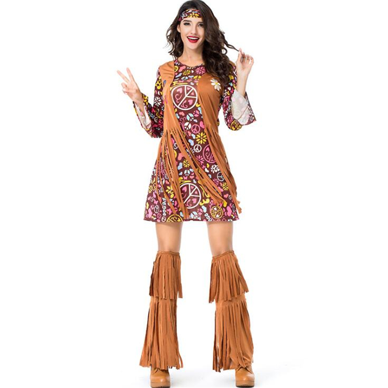 Deluxe Indian Women Costume Halloween Adult Party Indigenous Cosplay Clothing in Movie TV costumes from Novelty Special Use