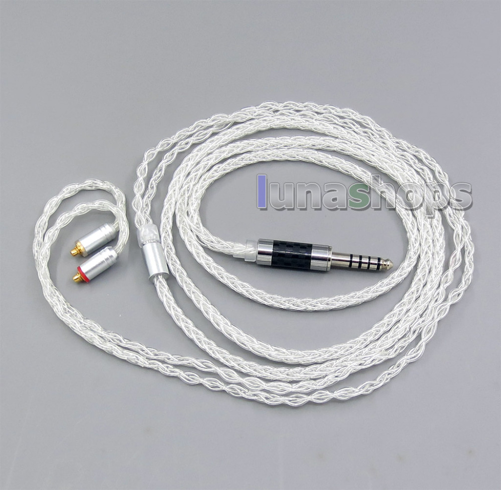8 Cores GY-Series 4.4mm Earphone cable for Sony PHA-2A TA-ZH1ES NW-WM1Z NW-WM1A AMP Player Shure se215 se315 se425 se535 LN00589 4 4mm earphone cable for sony pha 2a ta zh1es nw wm1z nw wm1a amp player audio technica ath im50 ath im70 ath im01 ath i ln00557