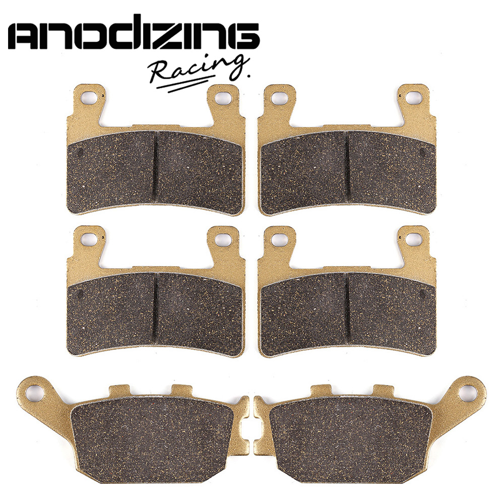 Motorcycle Front and Rear Brake Pads For HONDA CBR900RR Fireblade 1998-2003 CBR929RR 2000-2001 настенная плитка venis newport old beige 33 3x100