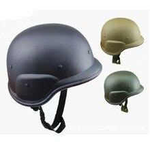 Apoyo EE EE. UU. militar M88 campo CS tácticas de camuflaje de combate del ejército de plástico ABS motos motocicleta casco XY01