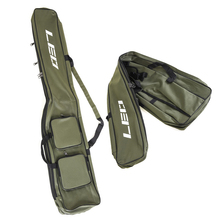 1.3m Army Green Soft Bag Knife Shape Double Layer 600D Polyester Fishing Foldable Rod for