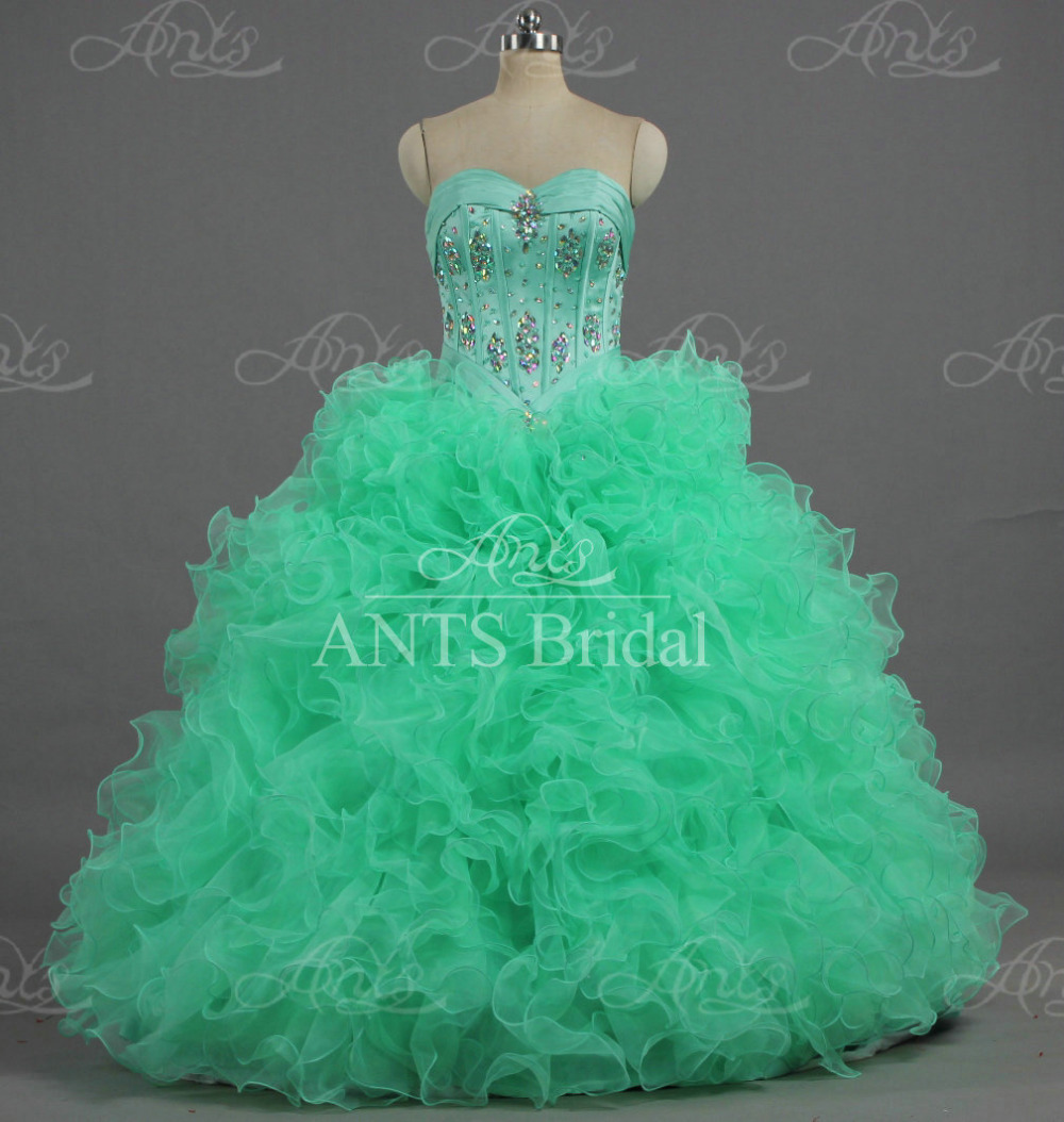 Fashion style Dresses 16 sweet green for lady