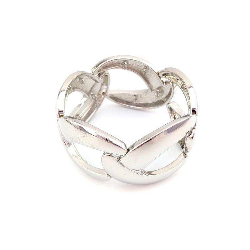 Специальный магазин женские Женская мода Star Silver Цвет эластичный браслет ювелирных изделий