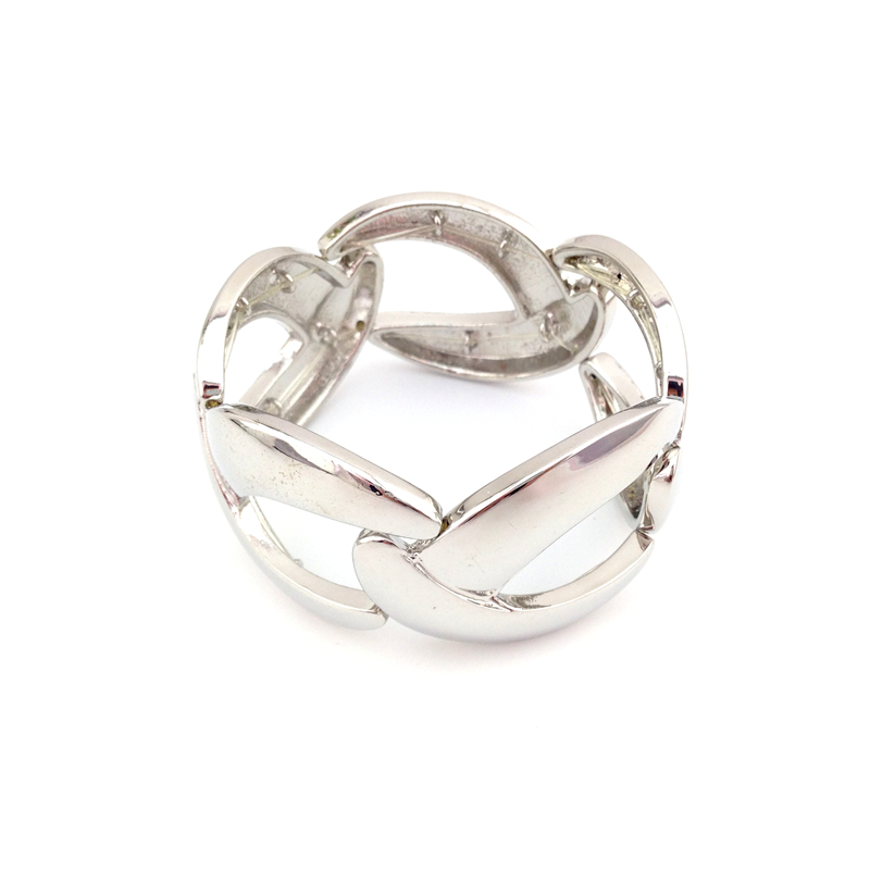 Special store Female women fashion star silver color elastic bracelet jewelry ...