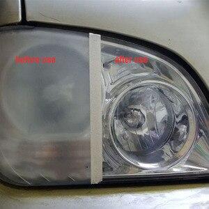 Image 5 - Car Headlight Restoration Kit Auto Headlight Renovation Repair Agent Scratches 9H Hardness Headlamp Polishing Car Care Repair