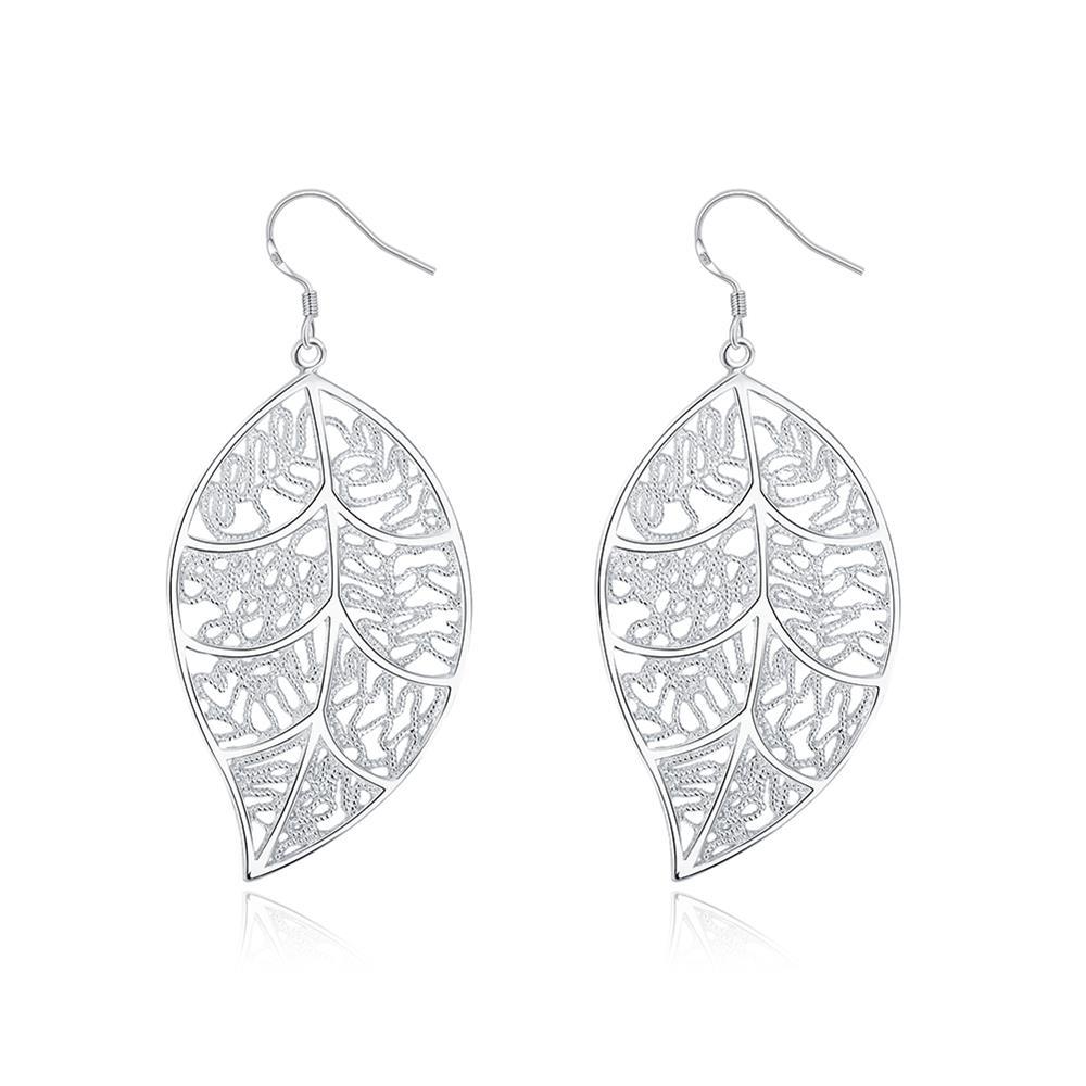 Hollow Leaves Wholesale Bohemian Earrings For Women Fashion Jewelry Party Earring Female Beautiful Earrings Black Friday Deals