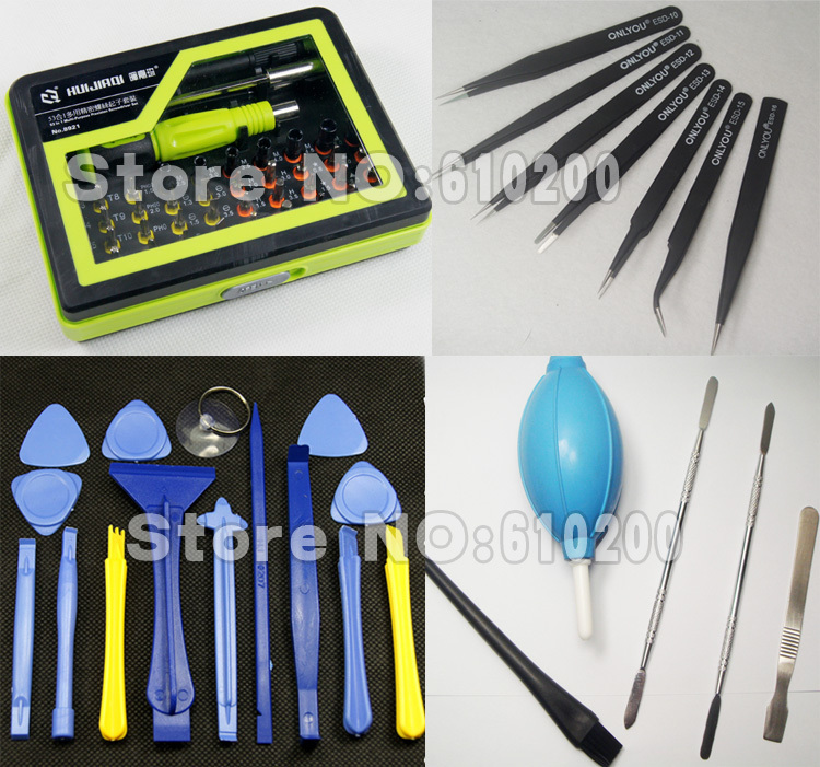 HOT New If professional Worth having screwdriver tools set + Opening tools+ESD Precision tweezers removable flat PC phone LCD литой диск replica legeartis hnd103 7 5x18 5x114 3 d67 1 et48 s