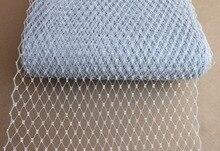 "10yard/lot 9""(22cm) Birdcage Veils Netting Millinery Hat Veil For Women Fascinator Veiling Headpiece ACC Bridal Veils"